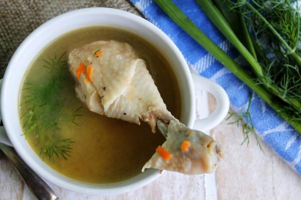 Суп из куриных голеней
