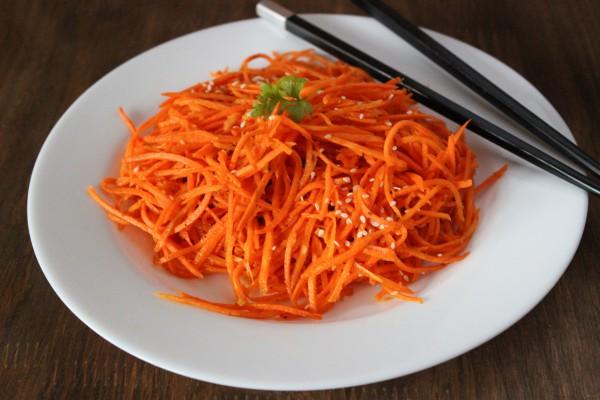 Морковь по-корейски с готовой приправой