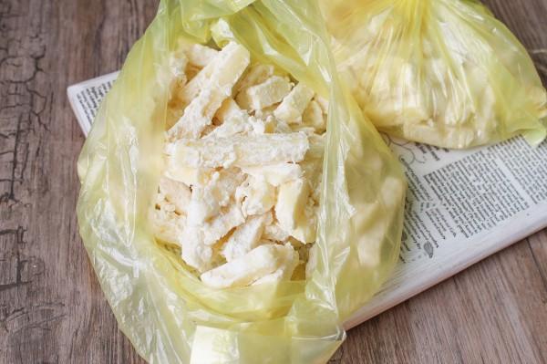 Как заморозить картофель для фри
