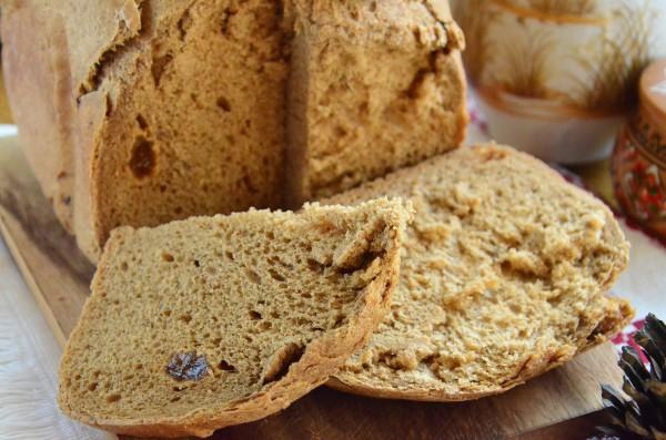 Пшеничный хлеб с тмином и солодом в хлебопечке