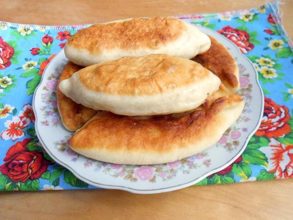 Жареные пирожки с картошкой на кефире