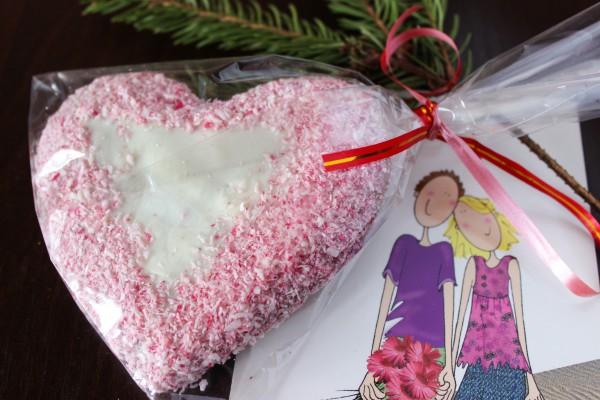 Пряник-валентинка