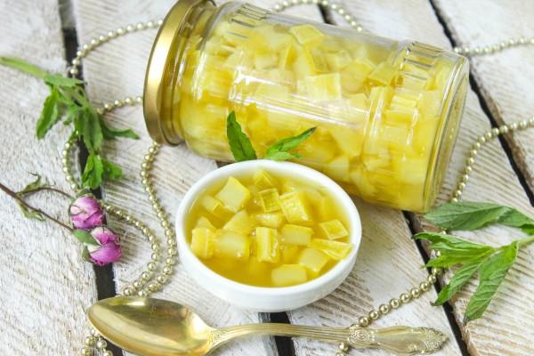 Варенье из кабачков с ананасовым соком