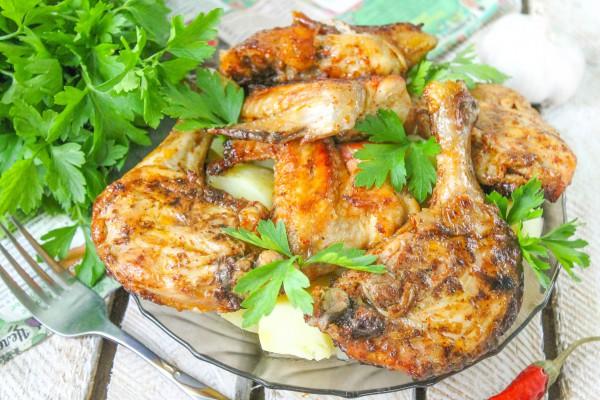 Цыпленок в паприке