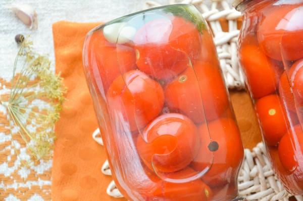 Медовые помидоры на зиму