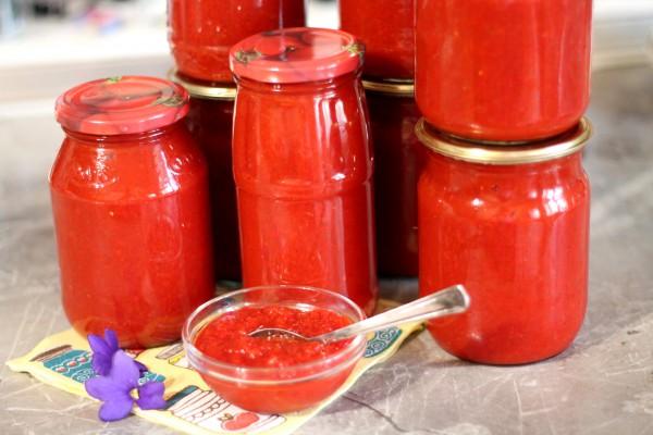 Кетчуп из помидоров и перца на зиму