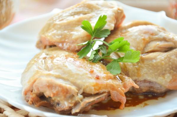 Куриные бедра в медово-горчичном маринаде в мультиварке