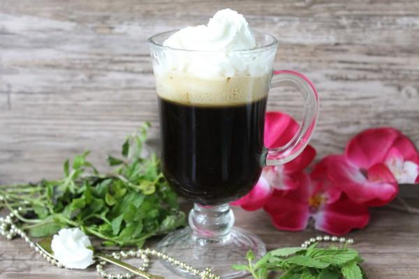 Растворимый кофе со сливками