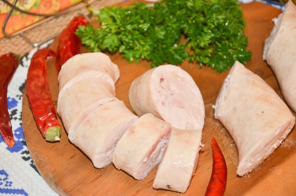 Полуфабрикат домашней колбасы