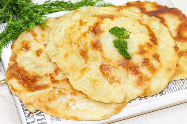 Хычины с картофелем