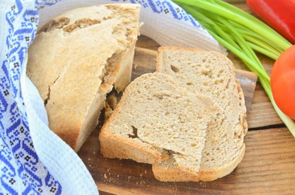 Хлеб из трех видов муки с орегано