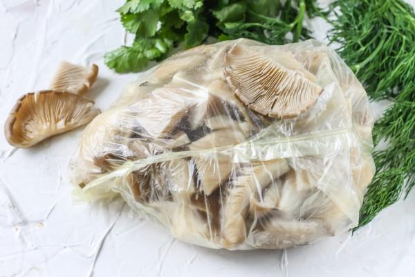 грибы вешенки как заморозить на зиму