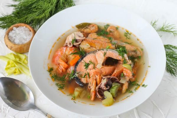 Буйабес с морепродуктами