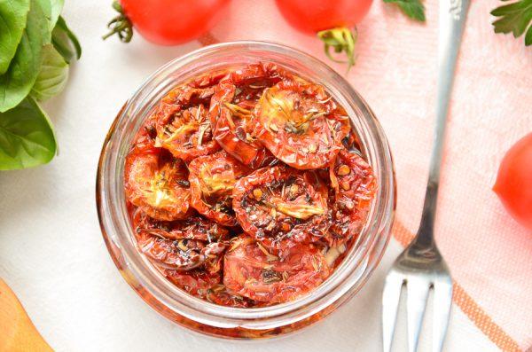 Вяленые помидоры черри