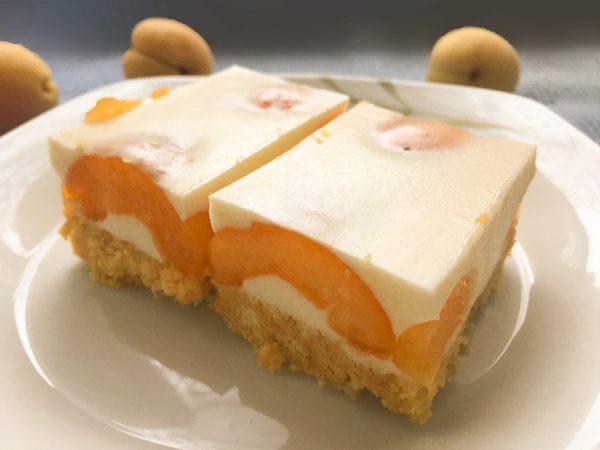 Абрикосовый пирог без выпечки