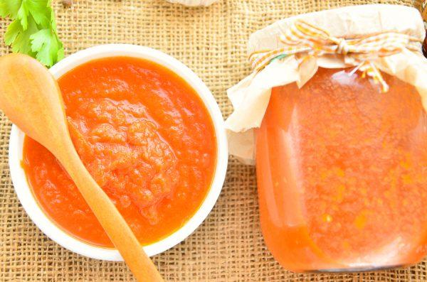 Кетчуп чили на зиму