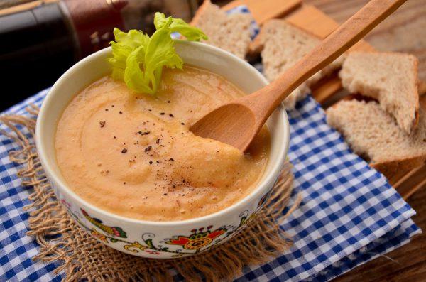 Куриный крем-суп с сельдереем