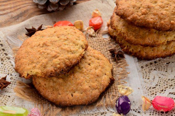 Овсяное печенье классическое