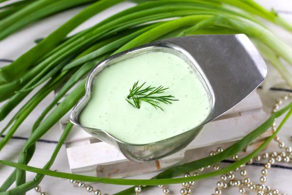 Соус из зеленого лука