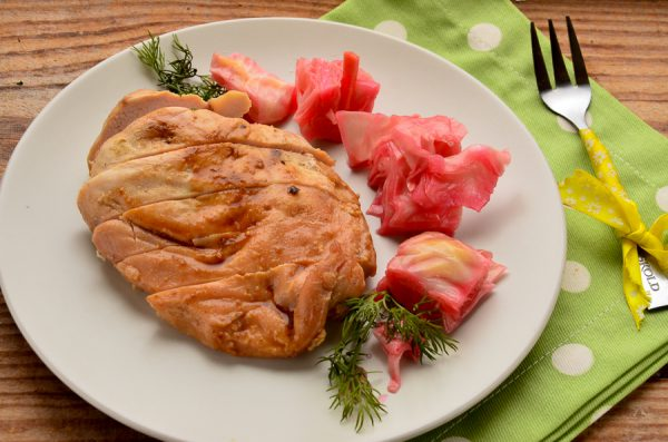 Куриное филе в горчично-медовом маринаде