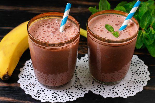 Молочный коктейль с какао