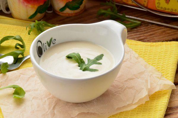 Сметанный соус для салата