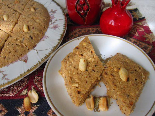 Домашняя армянская халва с арахисом
