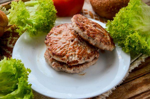 Котлеты для бургеров из говядины