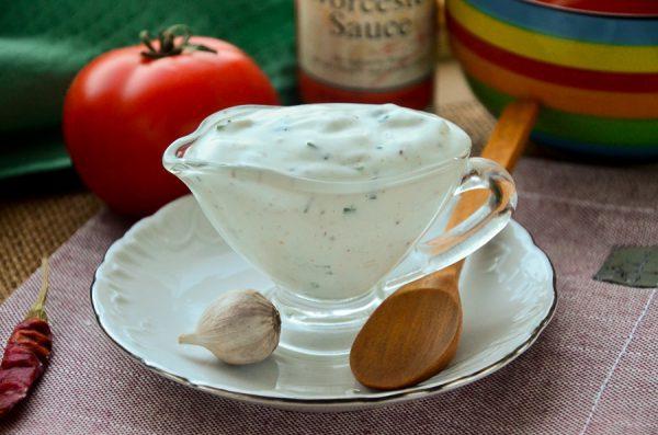Сметанный соус для картофеля