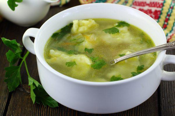 Суп с клецками, как в детском саду