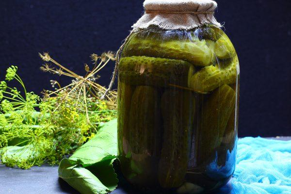 Огурцы, маринованные с уксусом и аспирином на зиму