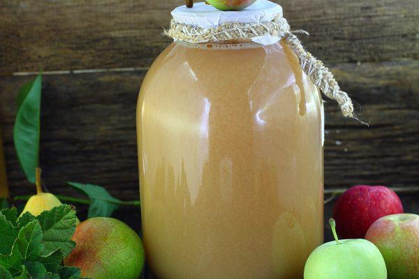 Яблочно-грушевый сок на зиму