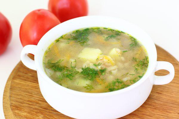 Овсяный суп