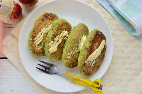 Котлеты из брокколи и цветной капусты