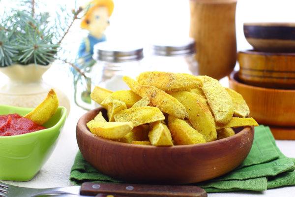 Картошка, жаренная в духовке
