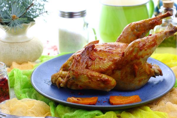 Цыпленок, запеченный в фольге