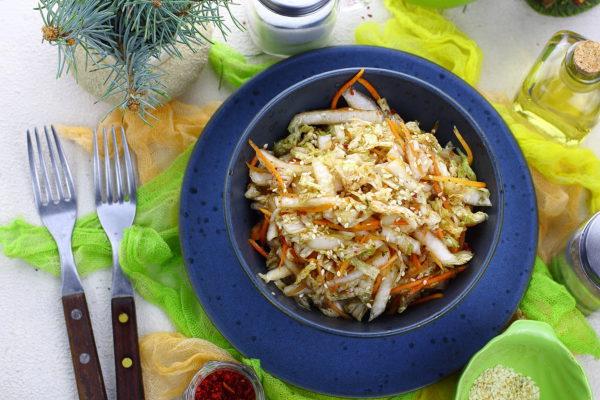 Салат из пекинской капусты по-корейски