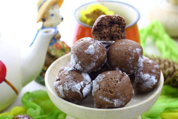 Шоколадно-имбирные пряники