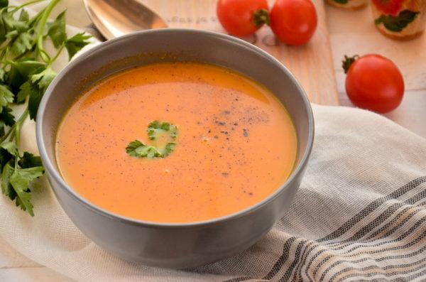 Тыквенный суп-пюре с молоком