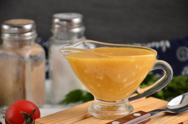 Медово-горчичный соус для курицы