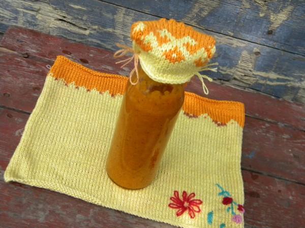 Кисло-сладкий соус из абрикосов на зиму
