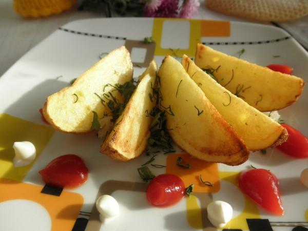Картошка по-селянски на сковороде