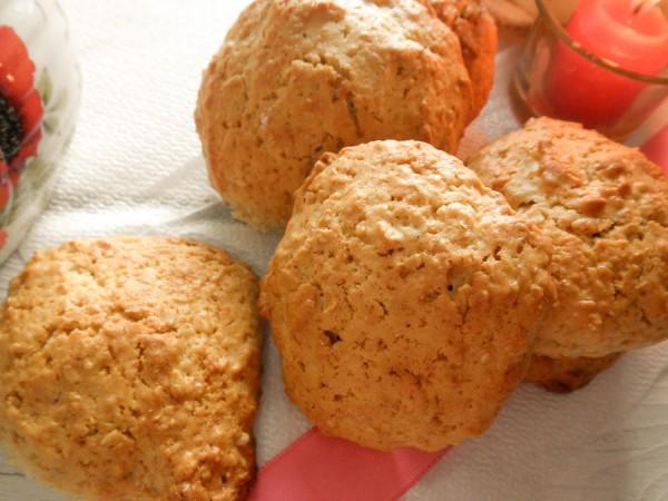 Овсяное печенье с медом и арахисом