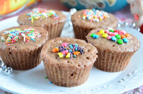 Экспресс-кексы с какао в микроволновке