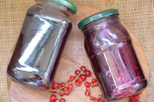 Варенье из красной и черной смородины