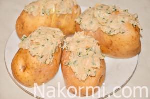 kartofel-s-chesnokom-i-salom-v-duhovke6