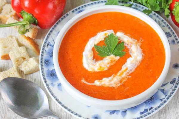 Суп-пюре из болгарского перца
