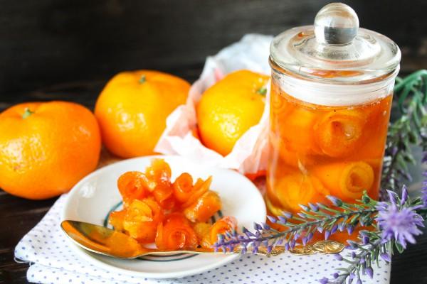 Варенье из апельсиновой кожуры