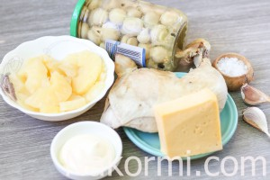 salat-s-kuricej-ananasami-i-gribami2