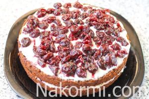 shokoladnyj-tort-so-smetannym-kremom-i-fruktami9